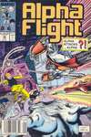 Alpha Flight #66 comic books - cover scans photos Alpha Flight #66 comic books - covers, picture gallery