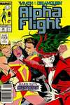 Alpha Flight #70 comic books - cover scans photos Alpha Flight #70 comic books - covers, picture gallery
