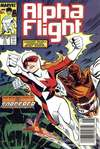 Alpha Flight #71 comic books - cover scans photos Alpha Flight #71 comic books - covers, picture gallery