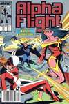 Alpha Flight #72 comic books - cover scans photos Alpha Flight #72 comic books - covers, picture gallery