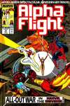 Alpha Flight #75 comic books - cover scans photos Alpha Flight #75 comic books - covers, picture gallery
