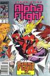 Alpha Flight #76 comic books - cover scans photos Alpha Flight #76 comic books - covers, picture gallery