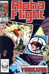 Alpha Flight #77 comic books - cover scans photos Alpha Flight #77 comic books - covers, picture gallery
