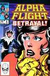 Alpha Flight #8 comic books - cover scans photos Alpha Flight #8 comic books - covers, picture gallery
