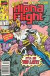 Alpha Flight #81 comic books - cover scans photos Alpha Flight #81 comic books - covers, picture gallery