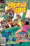 Alpha Flight #82 comic books - cover scans photos Alpha Flight #82 comic books - covers, picture gallery