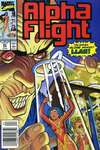 Alpha Flight #83 comic books - cover scans photos Alpha Flight #83 comic books - covers, picture gallery