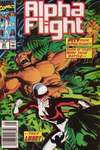 Alpha Flight #84 comic books - cover scans photos Alpha Flight #84 comic books - covers, picture gallery