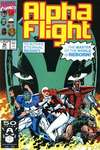 Alpha Flight #96 comic books - cover scans photos Alpha Flight #96 comic books - covers, picture gallery