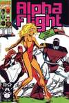 Alpha Flight #97 comic books - cover scans photos Alpha Flight #97 comic books - covers, picture gallery