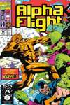 Alpha Flight #98 comic books - cover scans photos Alpha Flight #98 comic books - covers, picture gallery