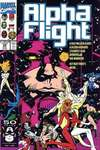 Alpha Flight #99 comic books for sale