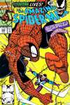Amazing Spider-Man #345 comic books - cover scans photos Amazing Spider-Man #345 comic books - covers, picture gallery