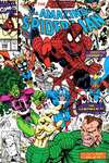 Amazing Spider-Man #348 comic books - cover scans photos Amazing Spider-Man #348 comic books - covers, picture gallery