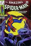 Amazing Spider-Man #70 comic books - cover scans photos Amazing Spider-Man #70 comic books - covers, picture gallery