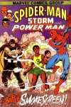 Amazing Spider-Man Storm and Power Man comic books
