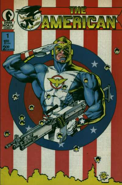 American #1 Comic Books - Covers, Scans, Photos  in American Comic Books - Covers, Scans, Gallery