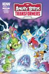 Angry Birds Transformers comic books