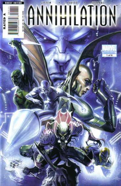 Annihilation #1 Comic Books - Covers, Scans, Photos  in Annihilation Comic Books - Covers, Scans, Gallery