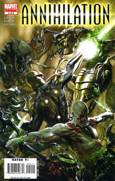 Annihilation #2 comic books - cover scans photos Annihilation #2 comic books - covers, picture gallery