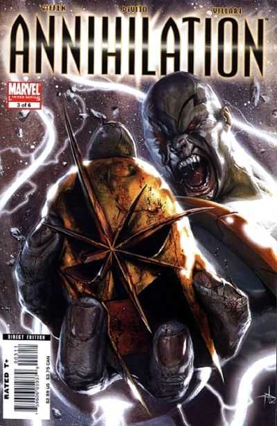 Annihilation #3 Comic Books - Covers, Scans, Photos  in Annihilation Comic Books - Covers, Scans, Gallery
