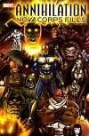 Annihilation: The Nova Corps Files #1 Comic Books - Covers, Scans, Photos  in Annihilation: The Nova Corps Files Comic Books - Covers, Scans, Gallery