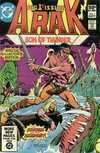 Arak/Son of Thunder comic books