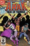 Arak/Son of Thunder #38 comic books - cover scans photos Arak/Son of Thunder #38 comic books - covers, picture gallery