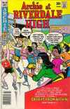Archie at Riverdale High #55 comic books for sale