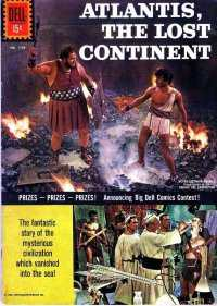 Atlantis: The Lost Continent #1 comic books - cover scans photos Atlantis: The Lost Continent #1 comic books - covers, picture gallery