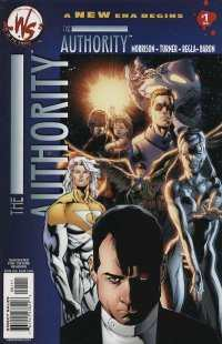 Authority comic books