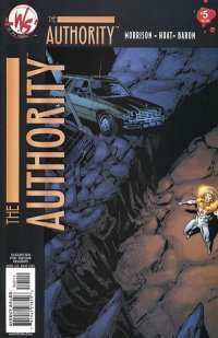 Authority #5 Comic Books - Covers, Scans, Photos  in Authority Comic Books - Covers, Scans, Gallery