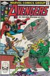 Avengers #222 Comic Books - Covers, Scans, Photos  in Avengers Comic Books - Covers, Scans, Gallery
