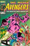 Avengers #244 comic books - cover scans photos Avengers #244 comic books - covers, picture gallery