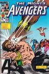 Avengers #252 comic books - cover scans photos Avengers #252 comic books - covers, picture gallery