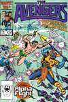 Avengers #272 comic books - cover scans photos Avengers #272 comic books - covers, picture gallery