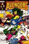 Avengers #297 comic books - cover scans photos Avengers #297 comic books - covers, picture gallery