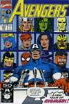 Avengers #329 comic books - cover scans photos Avengers #329 comic books - covers, picture gallery