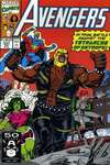 Avengers #331 comic books - cover scans photos Avengers #331 comic books - covers, picture gallery