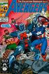 Avengers #335 comic books - cover scans photos Avengers #335 comic books - covers, picture gallery