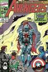 Avengers #338 comic books - cover scans photos Avengers #338 comic books - covers, picture gallery