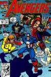 Avengers #343 comic books - cover scans photos Avengers #343 comic books - covers, picture gallery