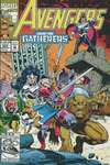 Avengers #355 comic books - cover scans photos Avengers #355 comic books - covers, picture gallery