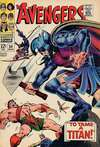 Avengers #50 Comic Books - Covers, Scans, Photos  in Avengers Comic Books - Covers, Scans, Gallery
