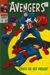 Avengers #56 comic books - cover scans photos Avengers #56 comic books - covers, picture gallery