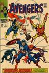 Avengers #58 Comic Books - Covers, Scans, Photos  in Avengers Comic Books - Covers, Scans, Gallery