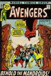 Avengers #94 comic books - cover scans photos Avengers #94 comic books - covers, picture gallery
