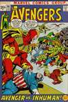 Avengers #95 comic books - cover scans photos Avengers #95 comic books - covers, picture gallery