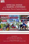 Avengers Thor & Captain America: Official Index to the Marvel Universe comic books