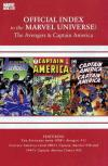 Avengers Thor & Captain America: Official Index to the Marvel Universe #14 comic books for sale